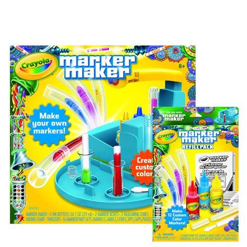 Crayola Marker Maker And Marker Refill Pack