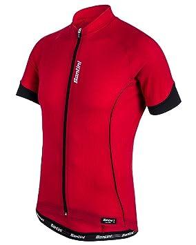 Santini 365 Men s Ora Short Sleeve Jersey  Santini  Amazon.co.uk ... 8af970e3f