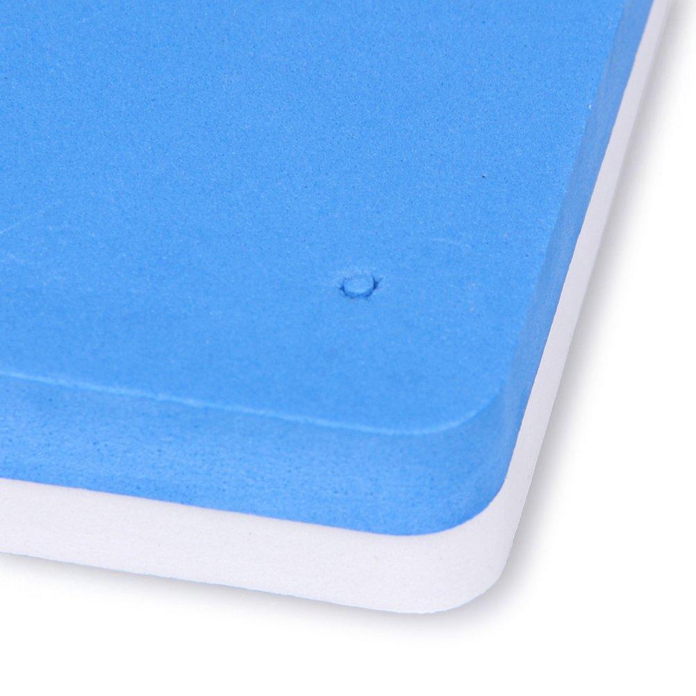 bestonzon 2pcs Espuma Pad de fondant pastel az/úcar flor modelaje alfombra