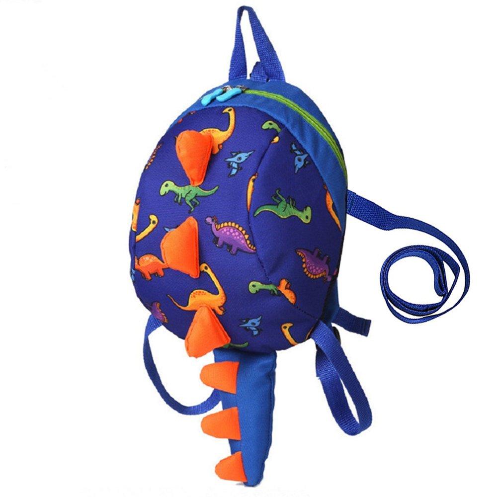 Hipiwe Baby Toddler Walking Safety Backpack Little Kid Boys Girls Anti-lost  Travel Bag Harness Reins ... b1a53cf3d1