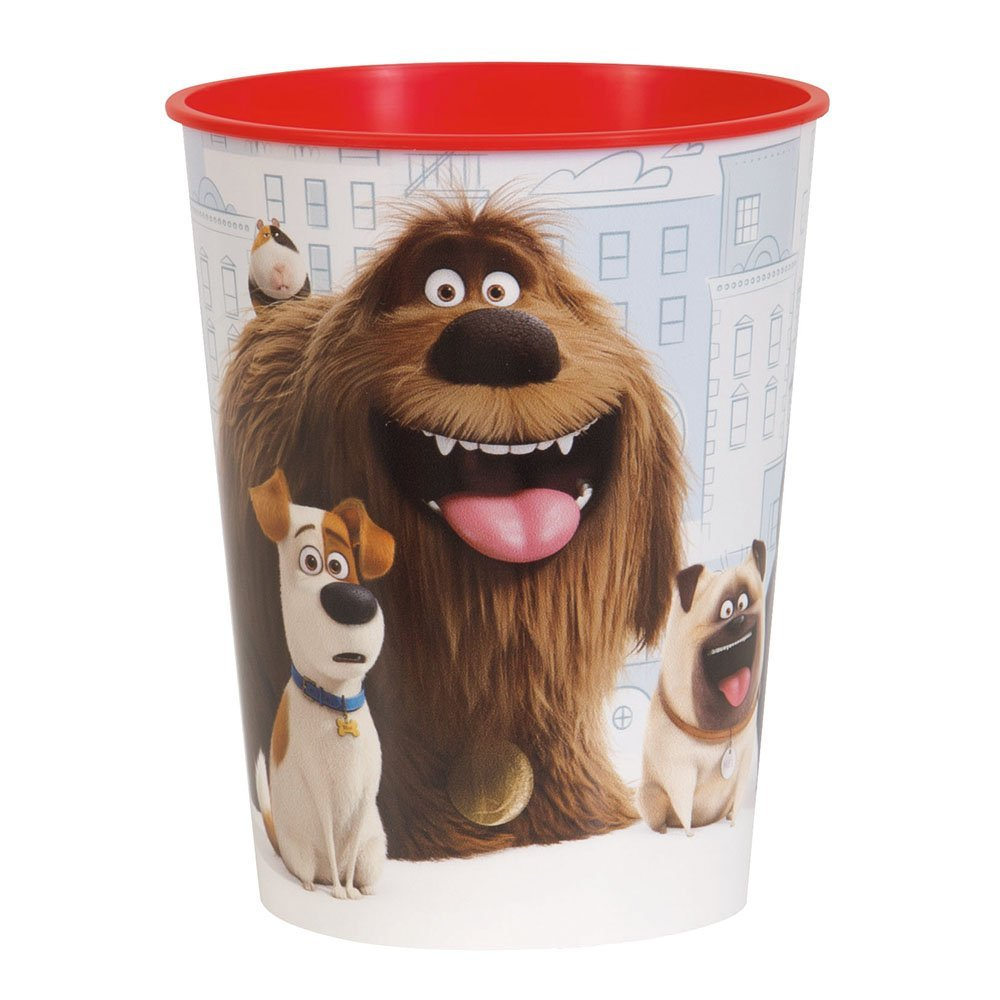 16oz The Secret Life of Pets Plastic Cups, 12ct