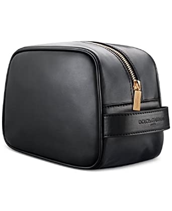 Dolce   Gabbana Black Toiletry Bag MakeUp Pouch Travel Cosmetics D G ... 3ff164c8a9118