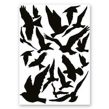 18er Aufkleber Set Vogelschutz Und Fensterschutz I Hin287 I