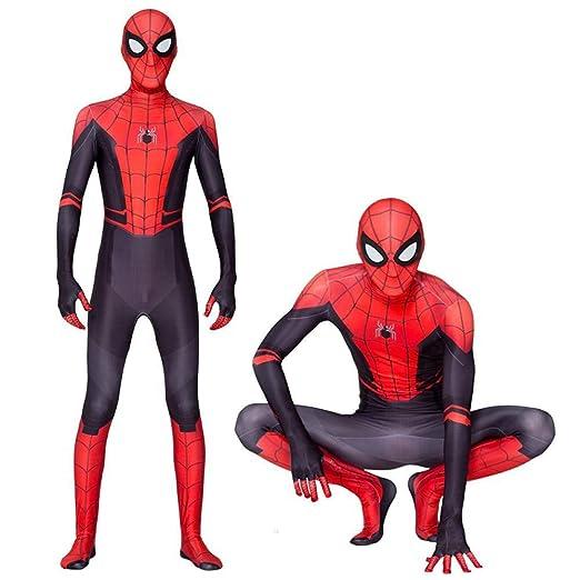 WEDSGTV Spider Man Body Spandex Traje para Adultos/Niños ...