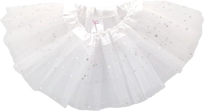 Dancina Falda Tutú con Brillos de Ballet para Bebés y Niñas de 6 ...