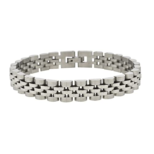 Amazon.com: Shopjw - Brazalete de acero inoxidable para ...