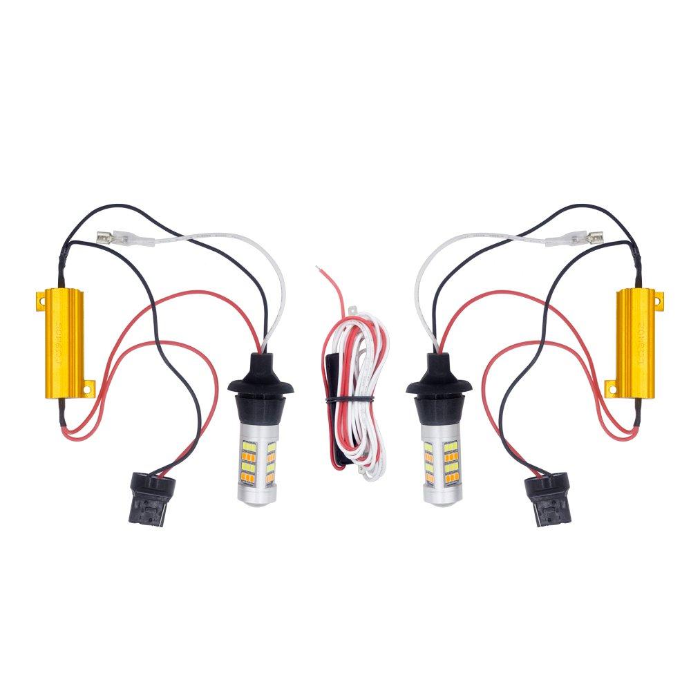 W219 4D R171 2D Pair W211 4D W211 5D W203 5D M-E-R-C-E-D-E-S B-E-N-Z License Number Plate Lights 18-SMD LED Free Error For W203 5D