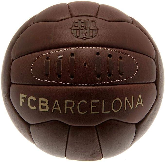 FCB FC Barcelona - Balón oficial modelo Retro Heritage (Talla 5 ...
