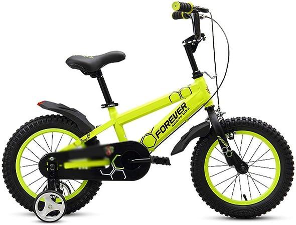 DT Amarilla 12/14/16 Pulgadas Bicicleta Infantil 2-4-6 Años ...