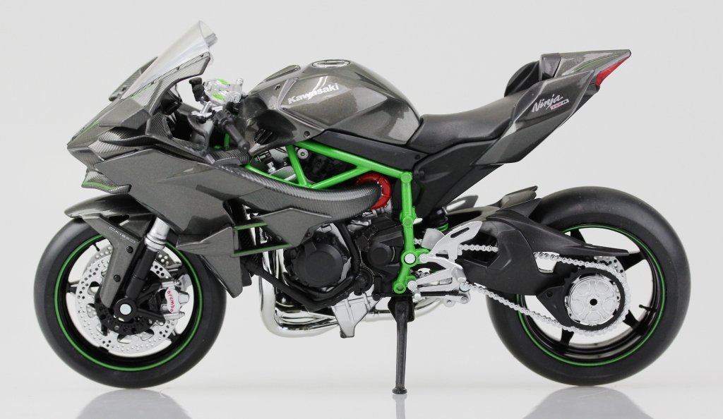 Buy Aoshima Skynet 1/12 Finished Goods Bike Kawasaki Ninja H2R ...