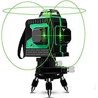 Laser Level CR2-RS Mini medidor de nivel de l/áser de cruz verde port/átil autonivelante con USB