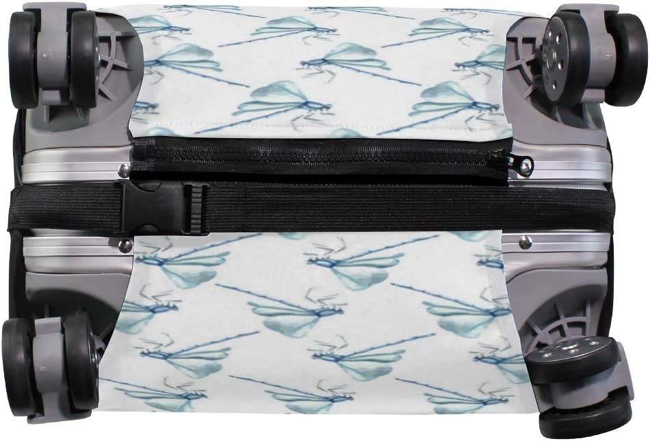 Dragonfly Inn Stencil Scarf Travel Luggage Protector Case Suitcase Protector For Man/&Woman Fits 18-32 Inch Luggage