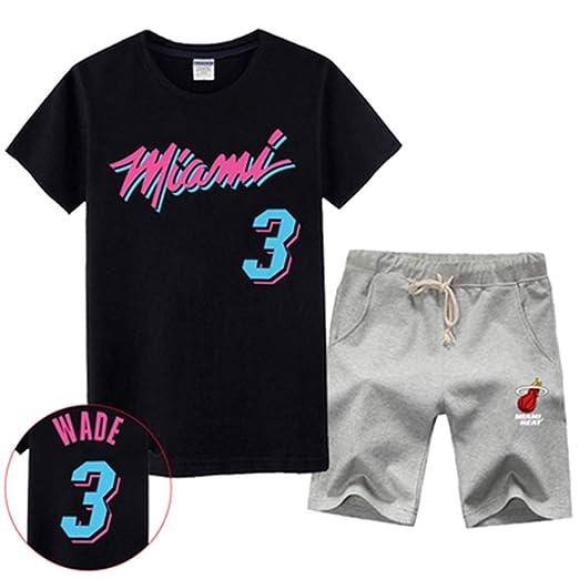 ENTHUSIAST Ventilador Conjunto Jersey NBA Miami Heat Dwyane Wade ...
