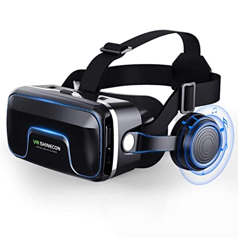 True-Ying - Gafas de vídeo 3D con Mando a Distancia Bluetooth para ...