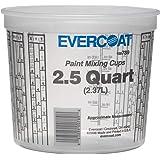 Evercoat 789 2.5 Quart Paint Mixing Cup, 50 Pack