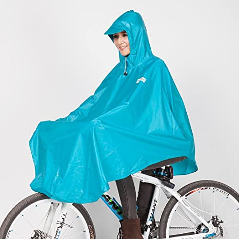 FSYY Impermeable Poncho Impermeable para Bicicletas Individual ...