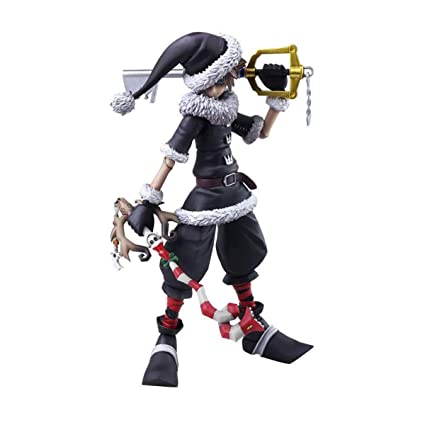 Nightmare Before Christmas Sora.Kingdom Hearts Ii Play Arts Vol 2 Sora Christmas Town Ver