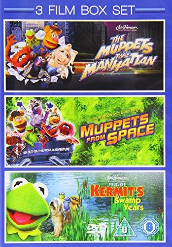 3 Film Box Set: Muppets Take Manhattan / Muppets From Space / Kermit's Swamp Years [DVD] (Muppets Dvd Box Set)