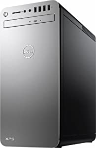 Top Performance Dell XPS 8920 Premium Desktop (Quad Core Intel i7-7700 3.60 GHz, 16GB DDR4 RAM, 1TB 7200RPM HDD, AMD Radeon RX 560 2GB Dedicated Graphics, BT, 802.11ac, DVD, HDMI, Windows10) - Silver
