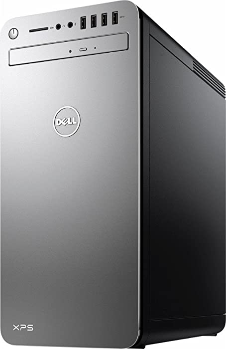 Top Performance Dell XPS 8920 Premium Desktop (Quad Core Intel i7-7700 3.60 GHz, 16GB DDR4 RAM, 1TB 7200RPM HDD, AMD Radeon RX 560 2GB Dedicated Graphics, BT, 802.11ac, DVD, HDMI, Windows10) - Silver