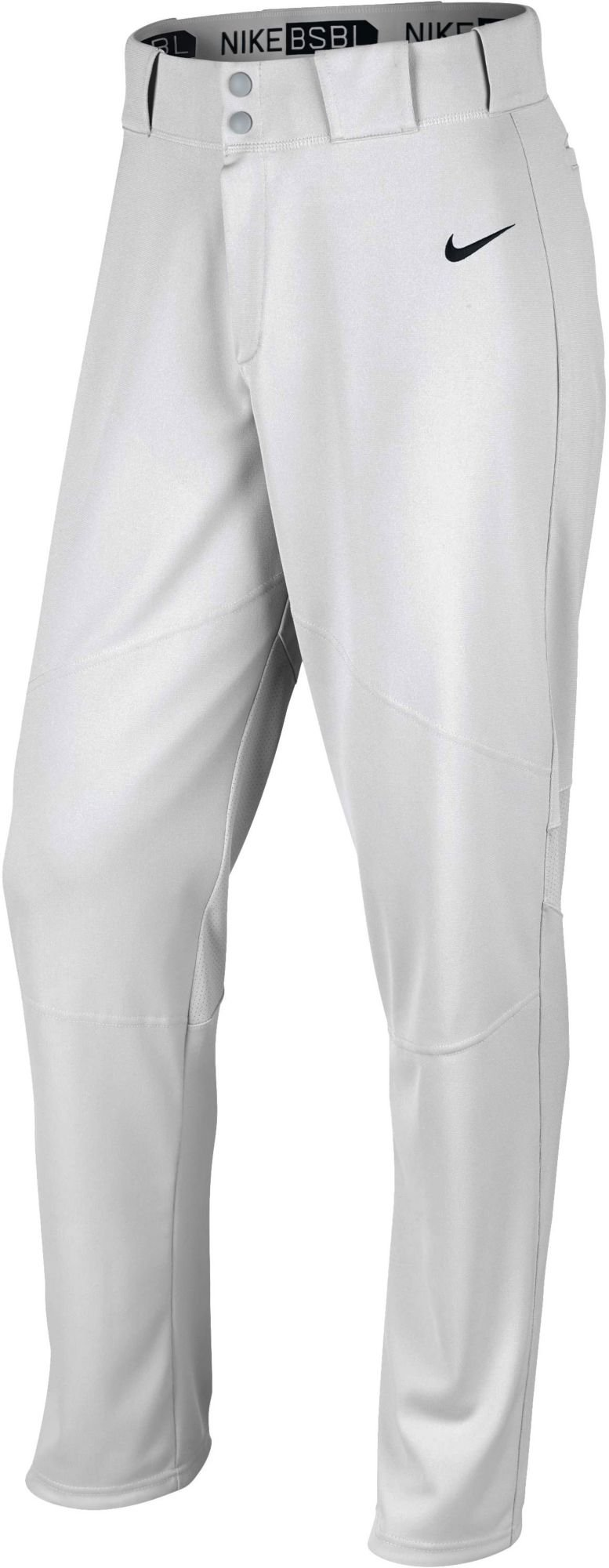 Nike Boys' Pro Vapor Baseball Pants (XS, White) by Nike
