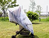 Taodou Universal Elastic Baby Stroller Mosquito Net Cover Summer Cradle Bassinet