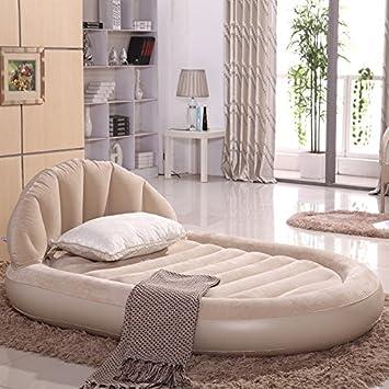 Amazon.com: FEI & S Deluxe respaldo cama inflable cama de ...