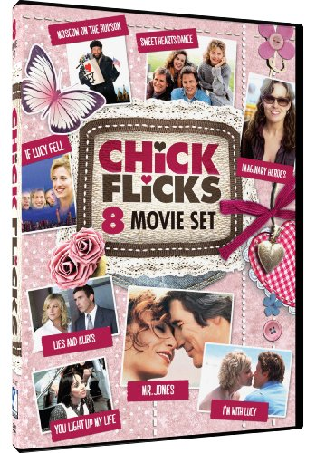 Chick Flicks - 8-Movie Set - Moscow on the Hudson - Sweet Hearts Dance - If Lucy Fell - Imaginary Heroes - Lies and Alibis - You Light Up My Life - Mr. Jones - I'm With Lucy - Movies Dvds Lucy