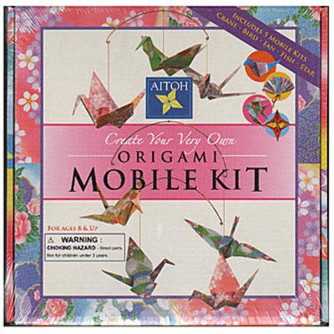 Aitoh Create Your Very Own Origami Mobile Kit 1 pcs sku# 1830700MA by Aitoh
