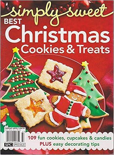 simply sweet best christmas cookies treats magazine 2014 amazoncom books - Best Christmas Cookies 2014