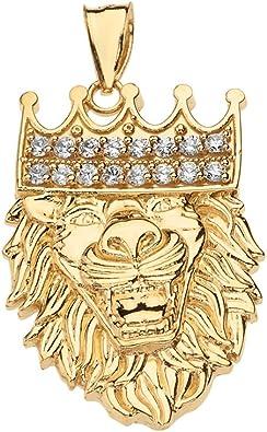 King/'s Crown Pendant Charm 14k Yellow Gold!!