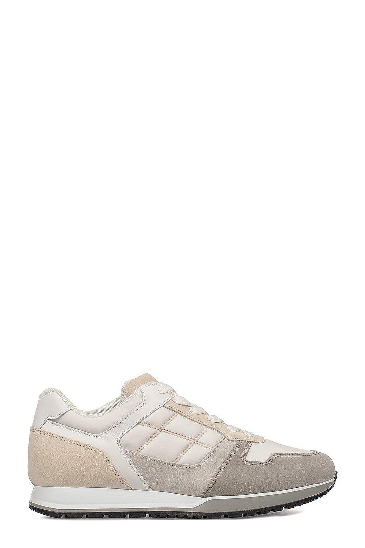 Hogan メンズ HXM3210Z140HJN9AZY ホワイト 革 運動靴 B07DJZ3LKQ