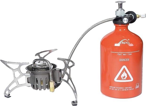APG MultiFuel Quemador de Aceite y Gas portátil para Camping ...