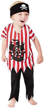 Confettery – Disfraz de Pirata para niños con pantalón, Parte ...