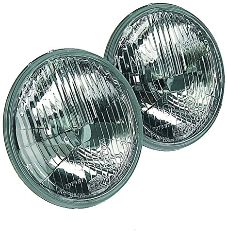 HELLA 002425811 135mm H1 High Beam Halogen Conversion Headlamp (Halogen Conversion)