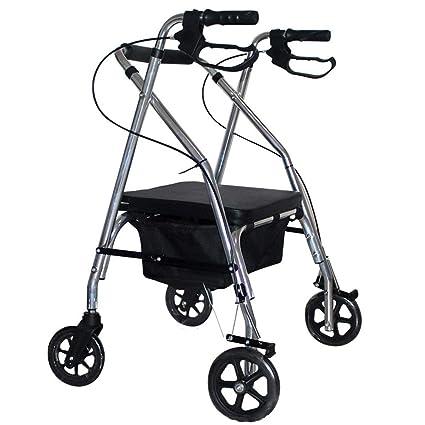 Accione el andador de acero, andador de aluminio ligero ...
