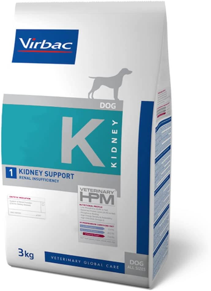 Veterinary Hpm Virbac Hpm Perro K1 Kidney Support 3Kg Virbac 01217 3000 g