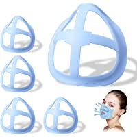 10pcs 3D Mas-k Bracket,Tinfence Lipstick Protection Stand,Nasal Mas-k Pad - Inner Support Bracket Breathing - Mouth and…