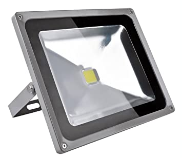 Foco Proyector 50W, blanco frío - foco proyector de exterior LED ...