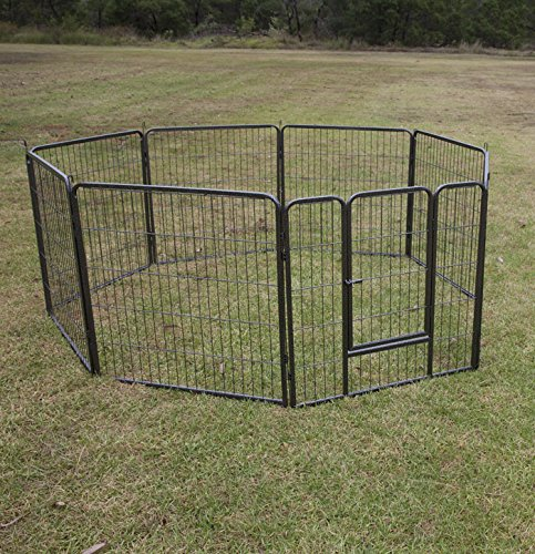 Flyline 32'' Height 8 Panels Dog Playpen Pet Pen Run Enclosure