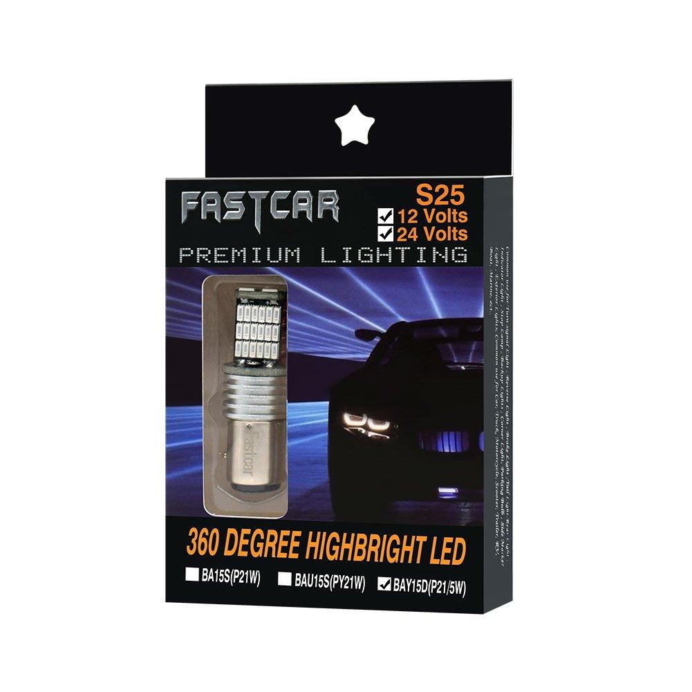 High Performance 2PCS BAU15S PY21W lampadine principali auto LED per Indicatori di Direzione Ambra Gialla 150 /° Pacchetto di 2