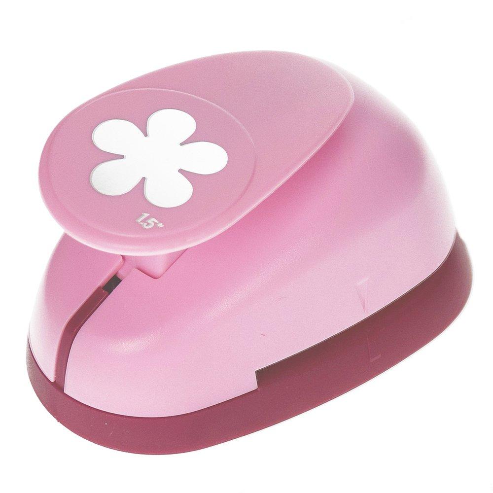 efco perforatrice, motivo fiore, colore rosa, 35mm 1793286