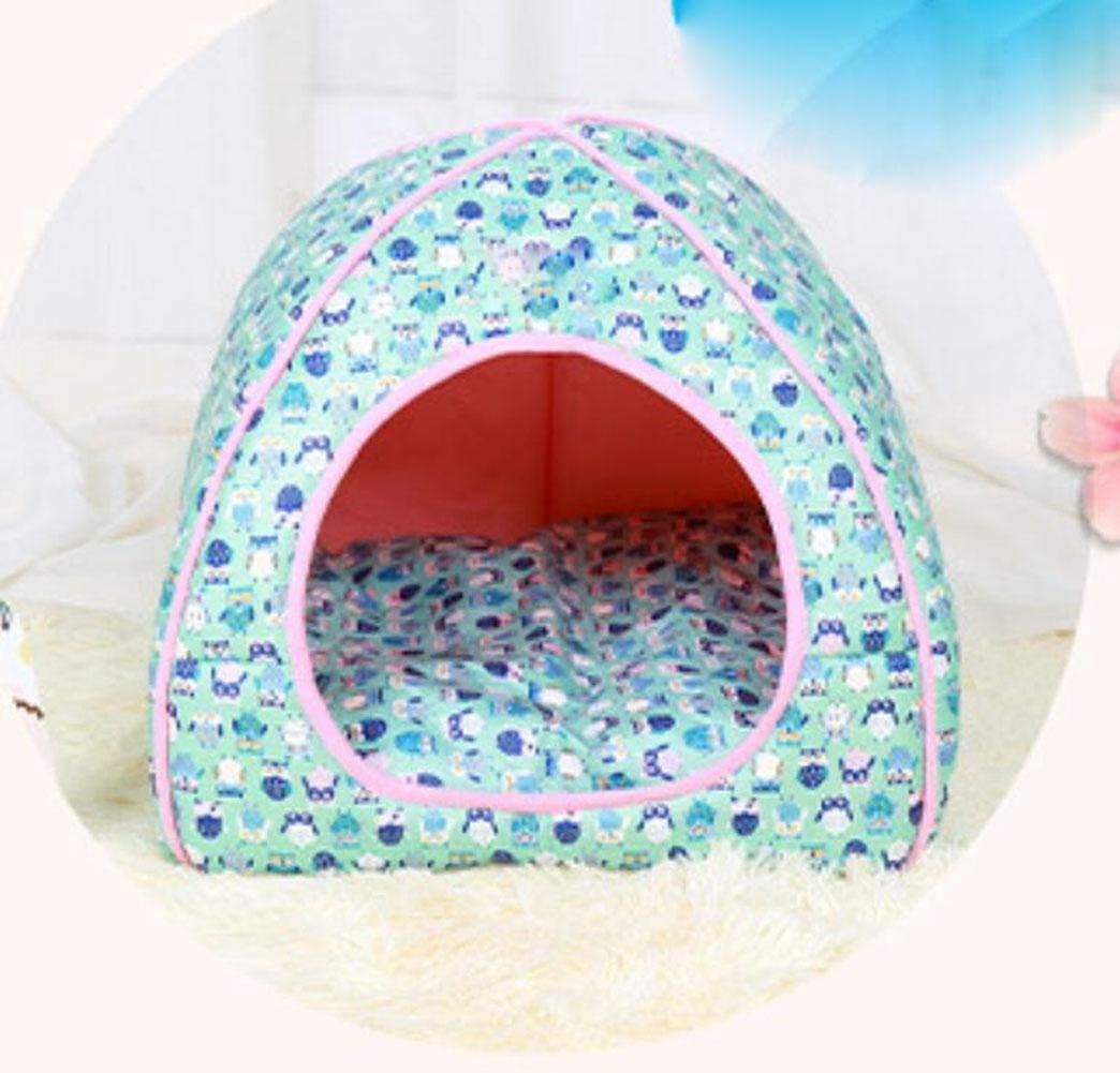 blueEXL Novelty Pet Sleeping Bed with Removable Cushion Soft Cat Dog Nest for MediumSized Dog Cave Bed
