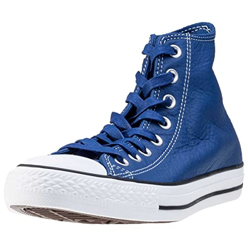 Converse Sneakers Chuck Taylor All Star Hi Classic Leather Roadtrip  Blue Casino White 4eabc8f320b1