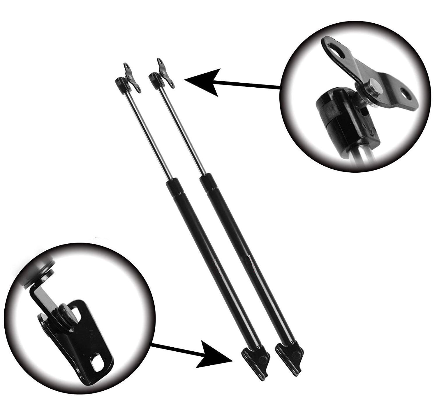 For Lexus RX300 1999-2003 Rear Liftgate Lift Supports Strut, Set of 2