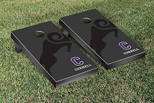 Cornell College Rams Cornhole Game Set Watermark Version 3 by Victory Tailgate