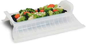 Ronco RG2005DRM Ready Grill All Purpose Steamer Basket, Clear