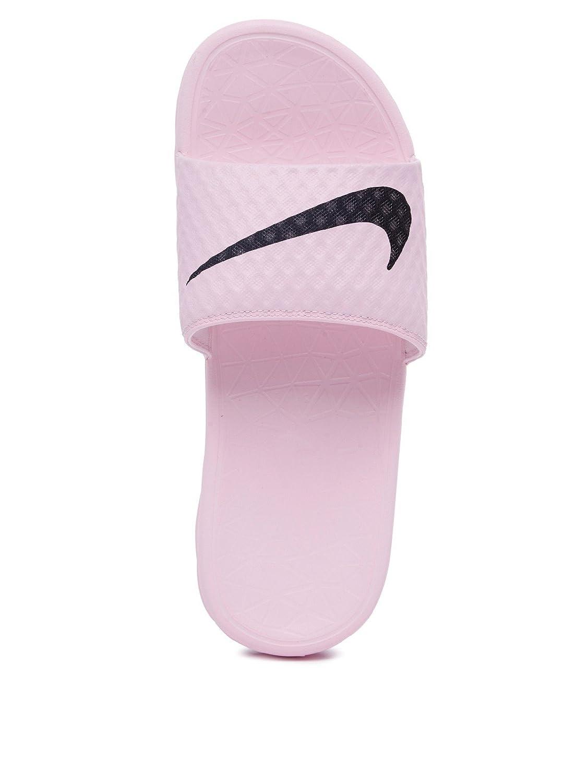 NIKE Women's Benassi Solarsoft US Prism Slide Sandal B072QCCLP4 5 B(M) US Prism Solarsoft Pink/Black ce9eb8