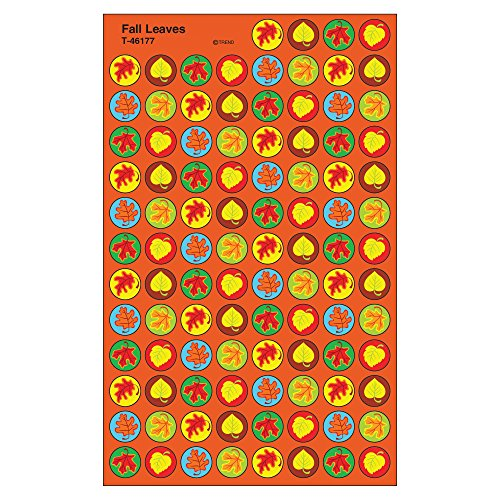 Trend Enterprises Inc. Fall Leaves superSpots Stickers, 800 ct