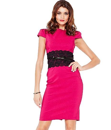 TYERY Lacy Falda De Tubo Decorativo,Rosa roja,XXL: Amazon.es ...